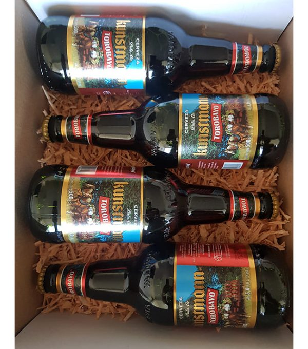 Caja de Regalo 4 Cervezas Kunstmann
